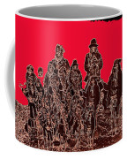 Geronimo And Family Surrendering Collage Number 1 C.s. Fly 1887-2012 Coffee Mug