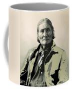 Geronimo As Photographed By A. Rinehart Omaha Nebrasks  1898-2013.  Coffee Mug