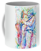Gerry Mulligan Playing Coffee Mug