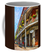 Getting Around The French Quarter - Watercolor Coffee Mug