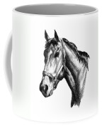 Ghazibella Thoroughbred Racehorse Filly Coffee Mug