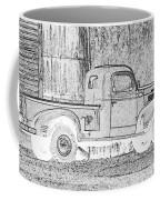 Ghost Of A Truck Coffee Mug