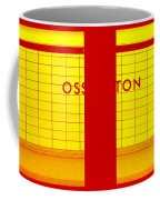 Ghost Station In Red And Yellow Coffee Mug