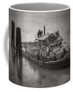 Ghost Steamer In Bw Coffee Mug
