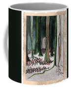 Ghost Stories Forest Graveyard By Jrr Coffee Mug