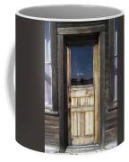Ghost Town Handcrafted Door Coffee Mug