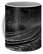 Ghost Tracks Coffee Mug