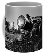 Ghost Train In Paranapiacaba - Locobreque Coffee Mug