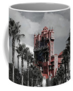 Ghostly At The Tower Coffee Mug