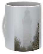 Ghostly Cana Island Lighthouse Coffee Mug