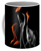 Ghostly Flames Coffee Mug