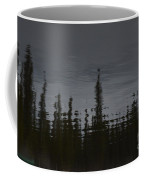 Ghostly Green Canoe Coffee Mug