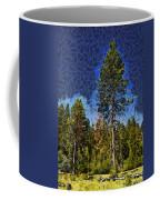 Giant Abstract Tree Coffee Mug