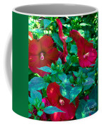 Giant Poppies Coffee Mug