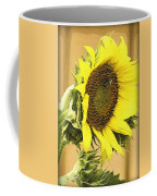 Giant Sunflower With Buds Coffee Mug