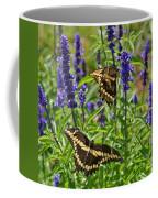 Giant Swallowtail Butterfly Couple Coffee Mug