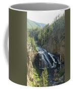 Gibbon River And Falls Coffee Mug