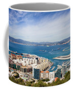 Gibraltar City And Bay Coffee Mug