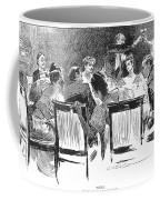 Gibson: Dinner Party, 1894 Coffee Mug