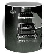 Black And White Les Paul Coffee Mug