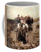 Giddy Up Coffee Mug by Alfred von Wierusz-Kowalski