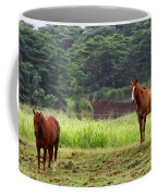 Giddy Up Horsy By Diana Sainz Coffee Mug