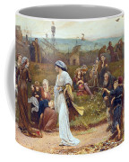 Gilbert A Beckets Troth The Saracen Maiden Entering London At Sundow  Coffee Mug by George John Pinwell