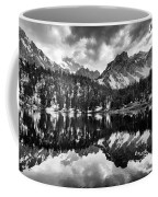 Gilbert Lake And University Peak Coffee Mug