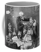 Gillray Cartoon: Quack Coffee Mug