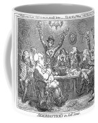Gillray: Tavern, 1801 Coffee Mug