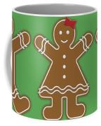 Gingerbread People Coffee Mug