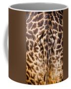 Giraffe Butt Coffee Mug by Adam Romanowicz