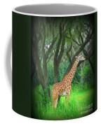 Giraffe In Florida Coffee Mug