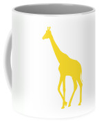 Giraffe In Golden And White Coffee Mug