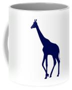 Giraffe In Navy And White Coffee Mug
