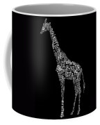 Giraffe Is The Word Coffee Mug