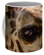 Giraffe Look Into My Eye Coffee Mug