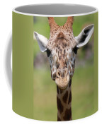 Giraffe Peek A Boo Poster Coffee Mug