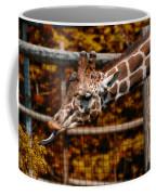 Giraffe Showing His 20 Inch Tongue Coffee Mug