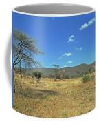 Giraffes In Samburu National Reserve Coffee Mug