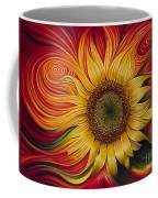 Girasol Dinamico Coffee Mug by Ricardo Chavez-Mendez