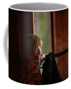 Girl At The Window Coffee Mug