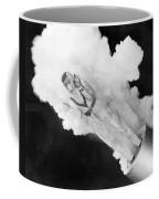 Girl Becomes Human Cannonball Coffee Mug