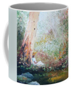 Girl In A White Dress Coffee Mug