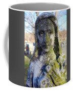 Girl In Green Coffee Mug