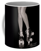 Girl Legs In Roller Skates Artistic Concept Coffee Mug