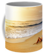 Girl On Seashore  Coffee Mug