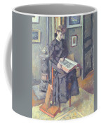 Girl Reading A Book Coffee Mug