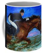 Girl Riding Her Horse II Coffee Mug