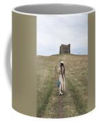 Girl Walks To A Chapel Coffee Mug